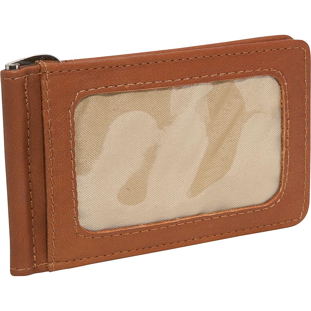 Piel Money Clip - Saddle - Work Bags & Briefcases, Men's Wallets