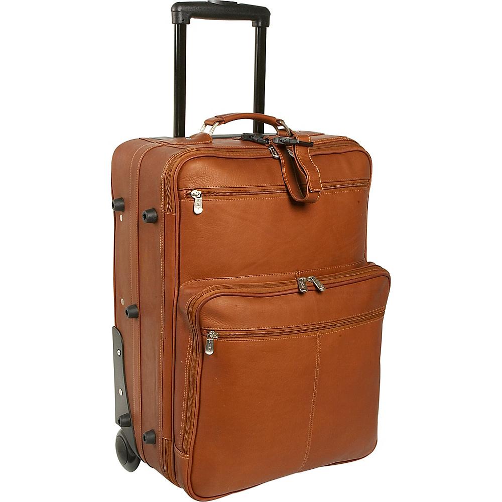 Piel 22 Wheeled Traveler Saddle - Piel Softside Carry-On - Luggage, Softside Carry-On