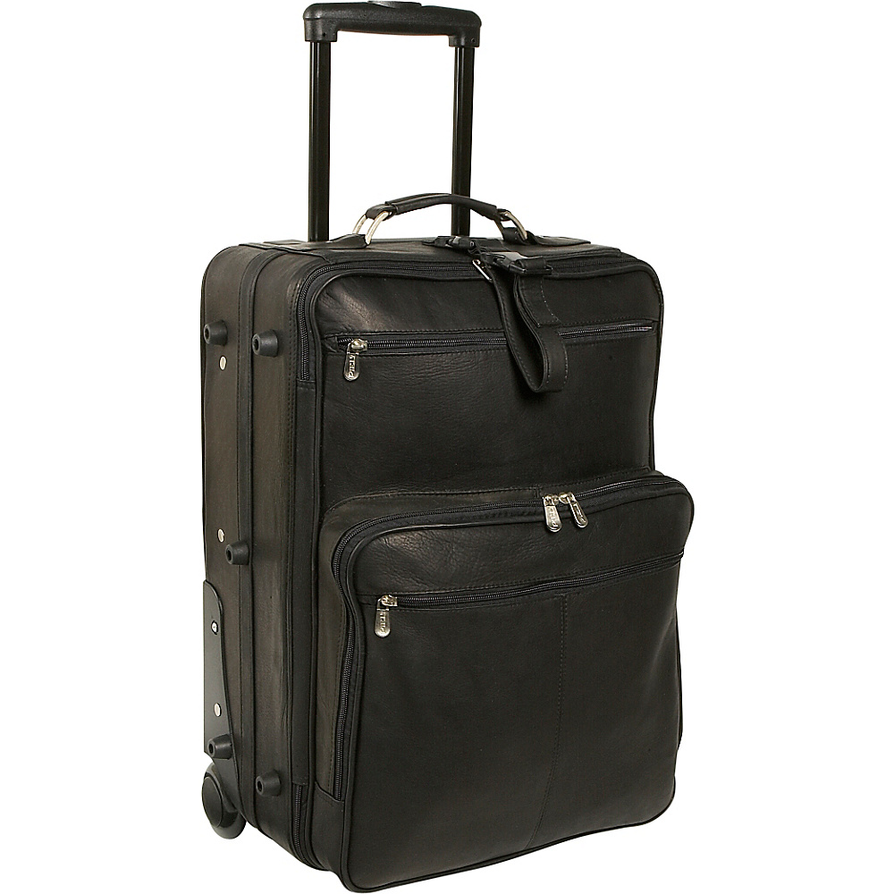 Piel 22 Wheeled Traveler - Black - Luggage, Softside Carry-On