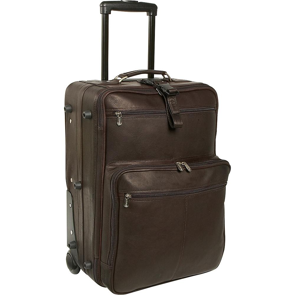 Piel 22 Wheeled Traveler - Chocolate - Luggage, Softside Carry-On