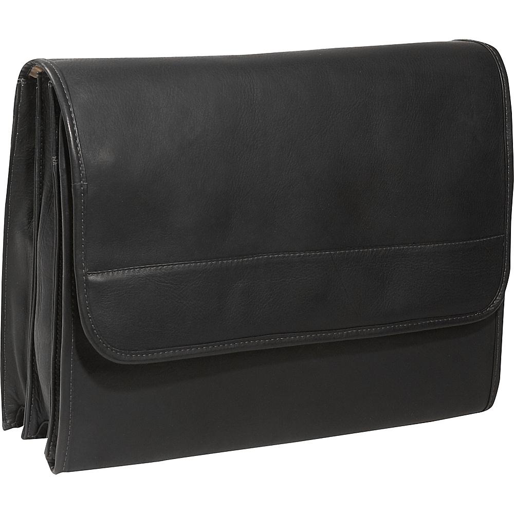 Piel Envelope Portfolio - Black - Work Bags & Briefcases, Non-Wheeled Business Cases