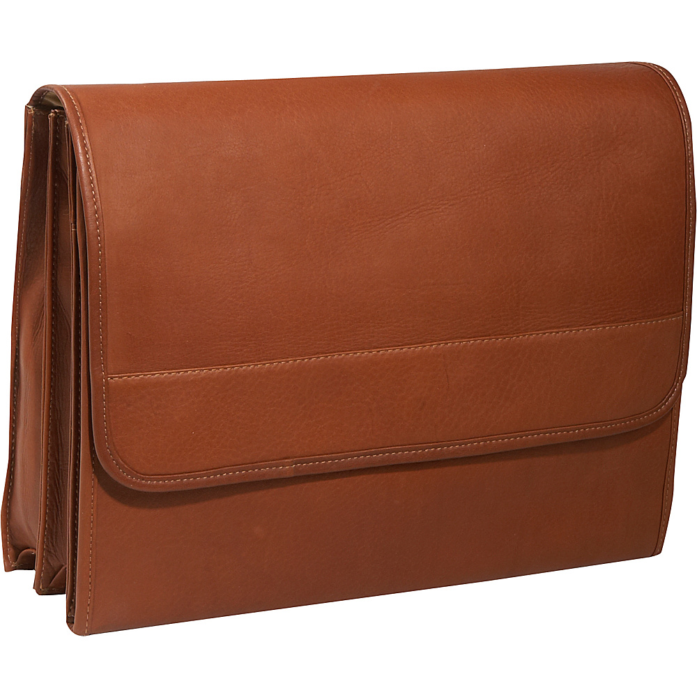 Piel Envelope Portfolio - Saddle - Work Bags & Briefcases, Non-Wheeled Business Cases