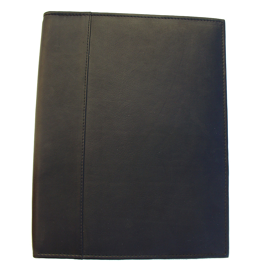 Piel Letter-Size Padfolio - Black - Work Bags & Briefcases, Business Accessories