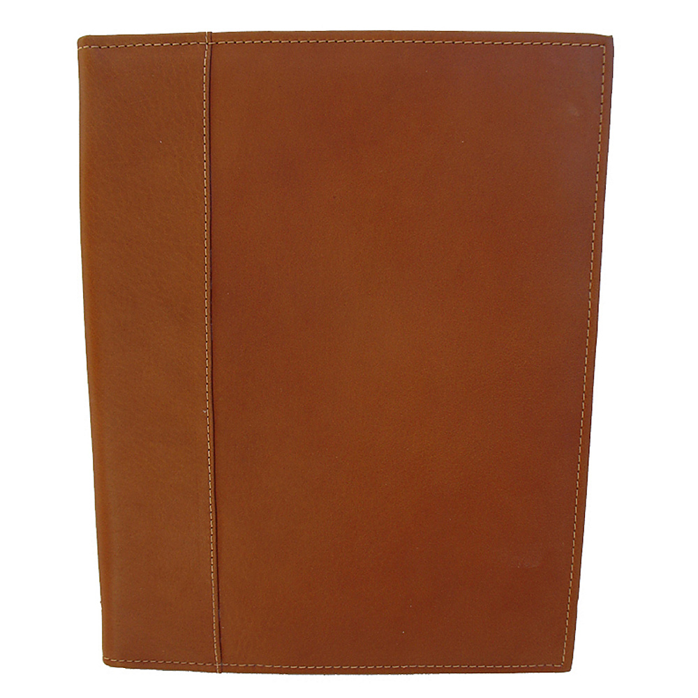 Piel Letter-Size Padfolio - Saddle - Work Bags & Briefcases, Business Accessories