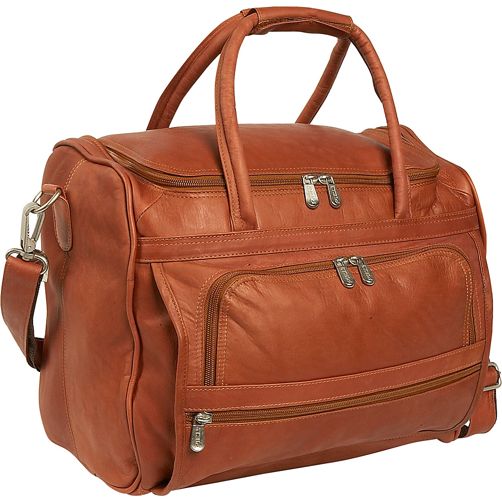 Piel Piggy Back Laptop Carry On Saddle - Piel Non-Wheeled Business Cases - Work Bags & Briefcases, Non-Wheeled Business Cases