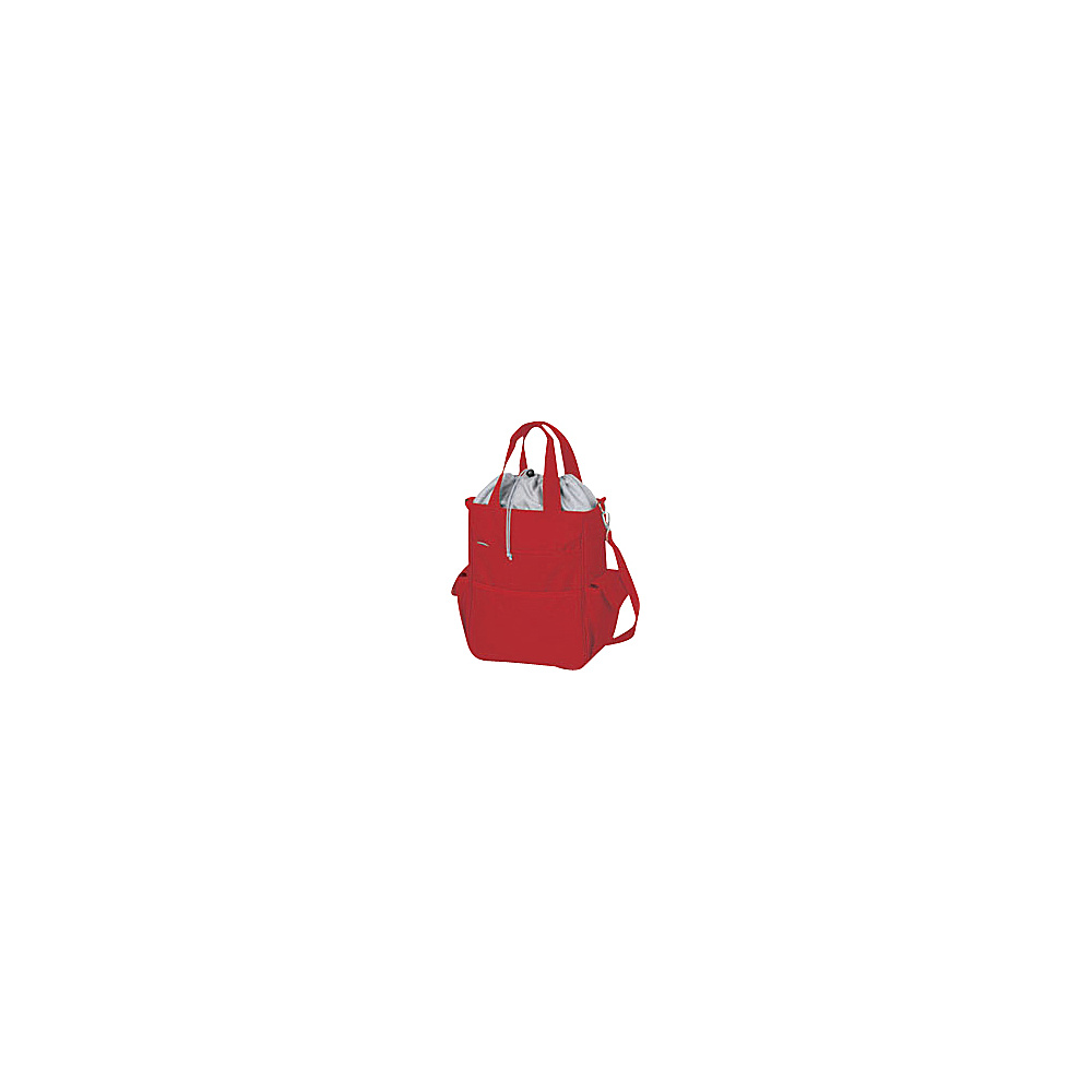 Picnic Time Activo Lunch Tote Red