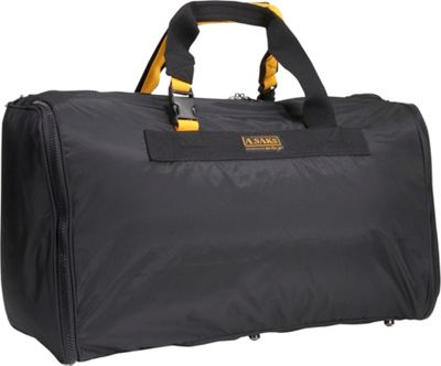 "Image of A. Saks EXPANDABLE 24"" Triangle Expandable Duffel"