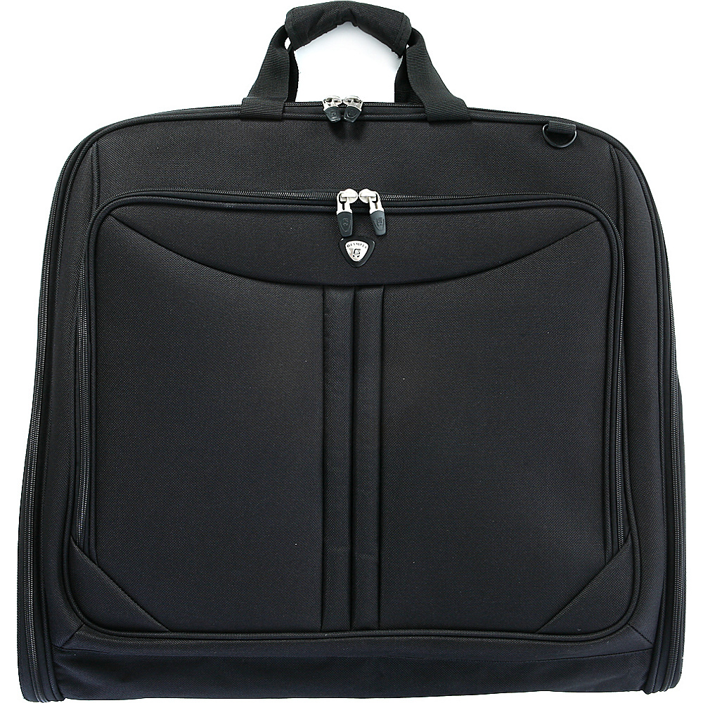 Olympia Garment Bag - Black - Luggage, Garment Bags