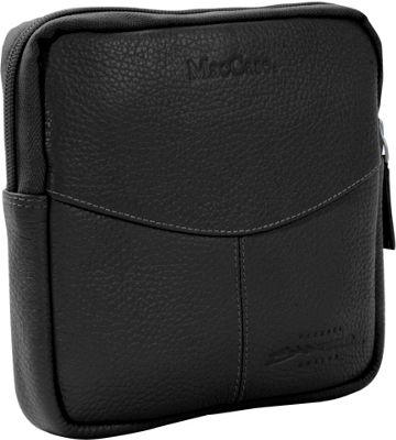 MacCase Premium Leather Accessory Case - Black
