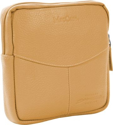 MacCase Premium Leather Accessory Case Tan - MacCase Business Accessories
