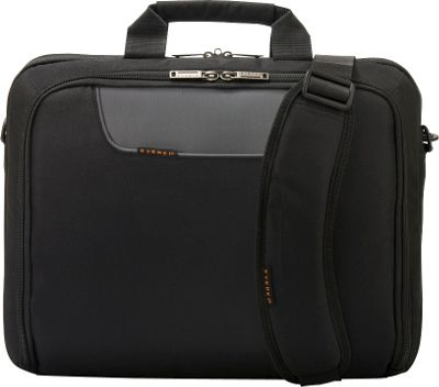 Everki Advance 16 inch Laptop Bag Black - Everki Non-Wheeled Business Cases