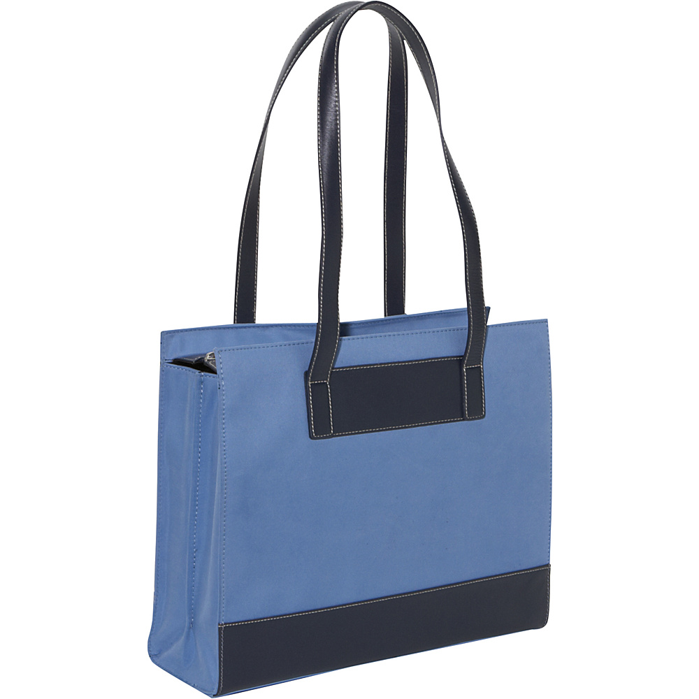 Bellino The Tribeca Laptop Tote - Atlantic Blue - Work Bags & Briefcases, Women's Business Bags