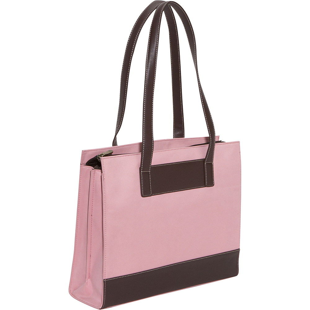 Bellino The Tribeca Laptop Tote - Rose Pink - Work Bags & Briefcases, Women's Business Bags