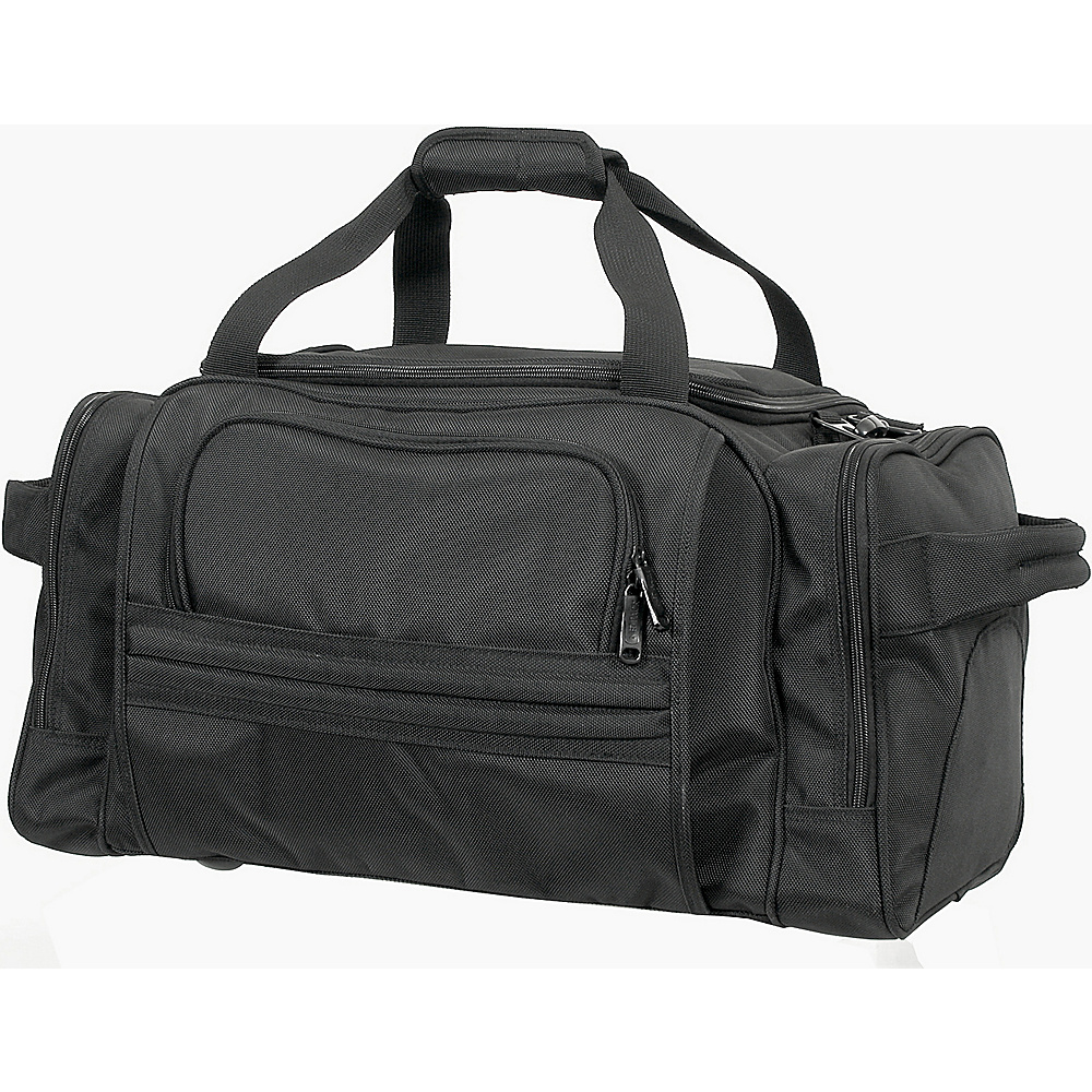 Netpack Nylon Travel Duffel - Black - Duffels, Travel Duffels