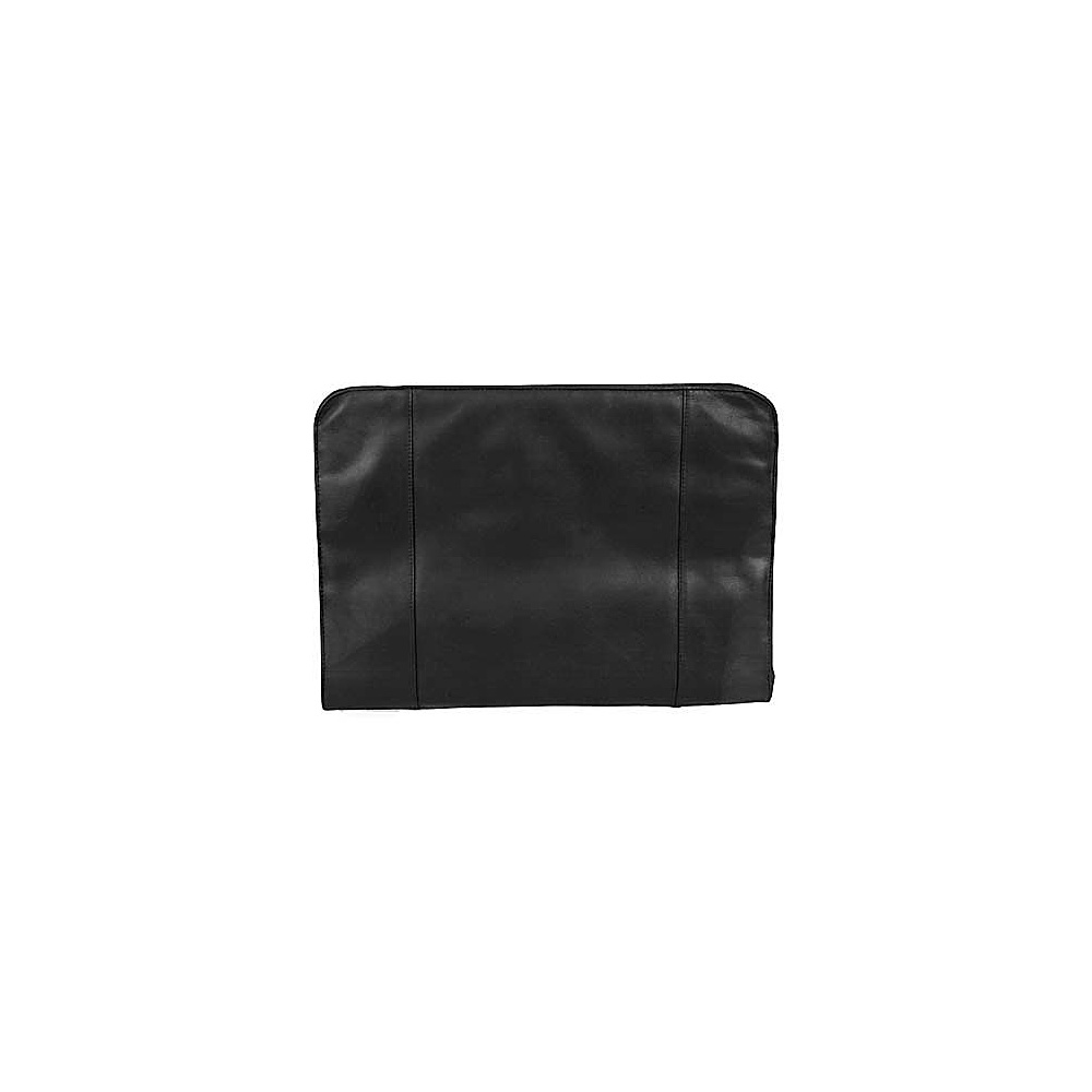 Derek Alexander Zip-around Portfolio - Black - Work Bags & Briefcases, Business Accessories