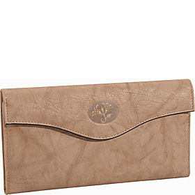 Heiress Organizer; Clutch Taupe