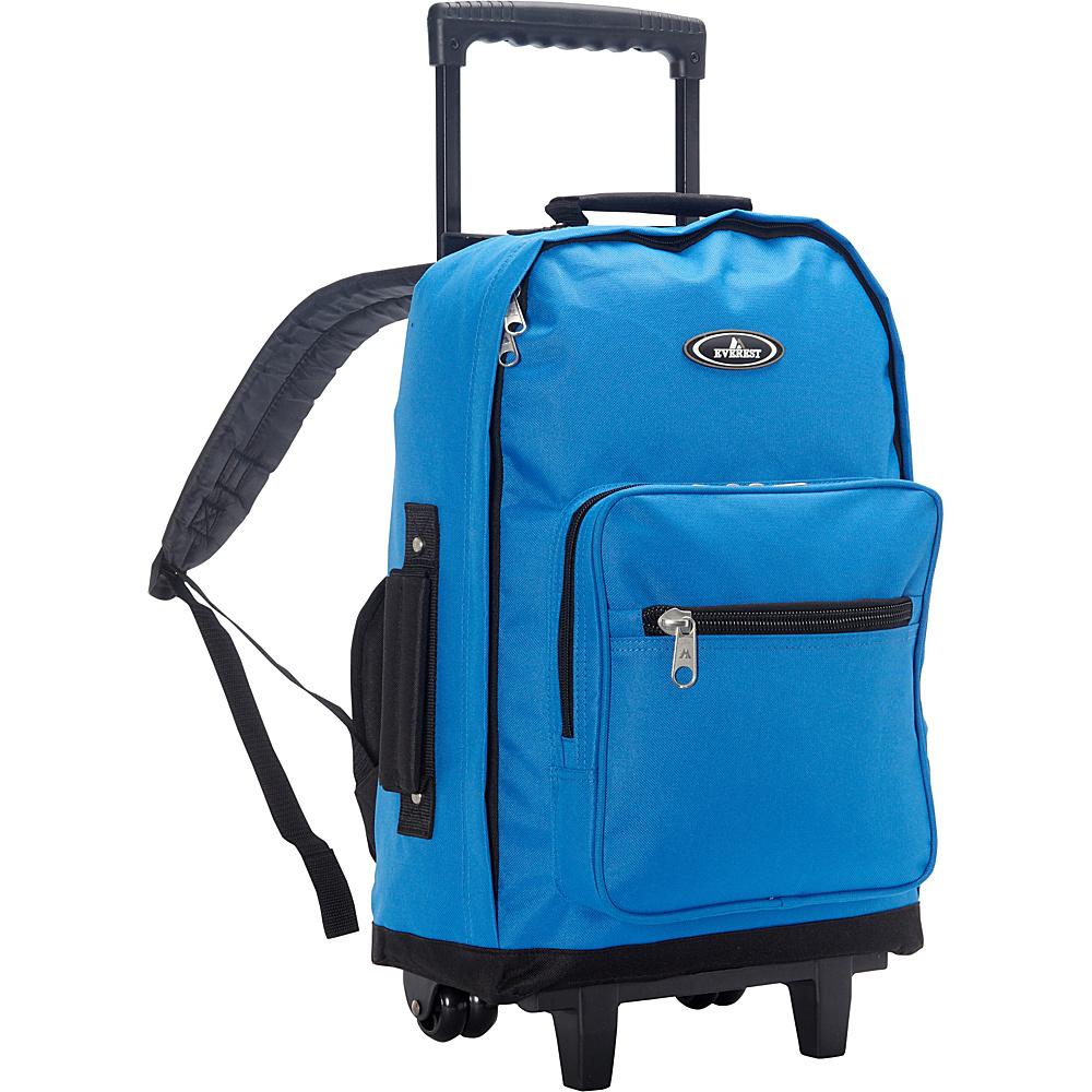 Everest Wheeled Backpack Royal Blue - Everest Rolling Backpacks - Backpacks, Rolling Backpacks