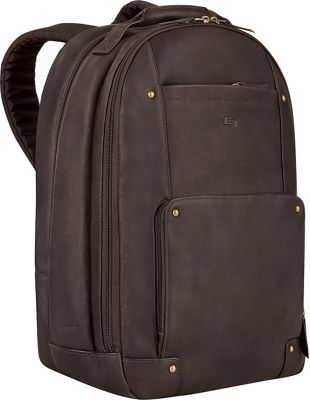 SOLO Vintage Laptop Backpack - Espresso