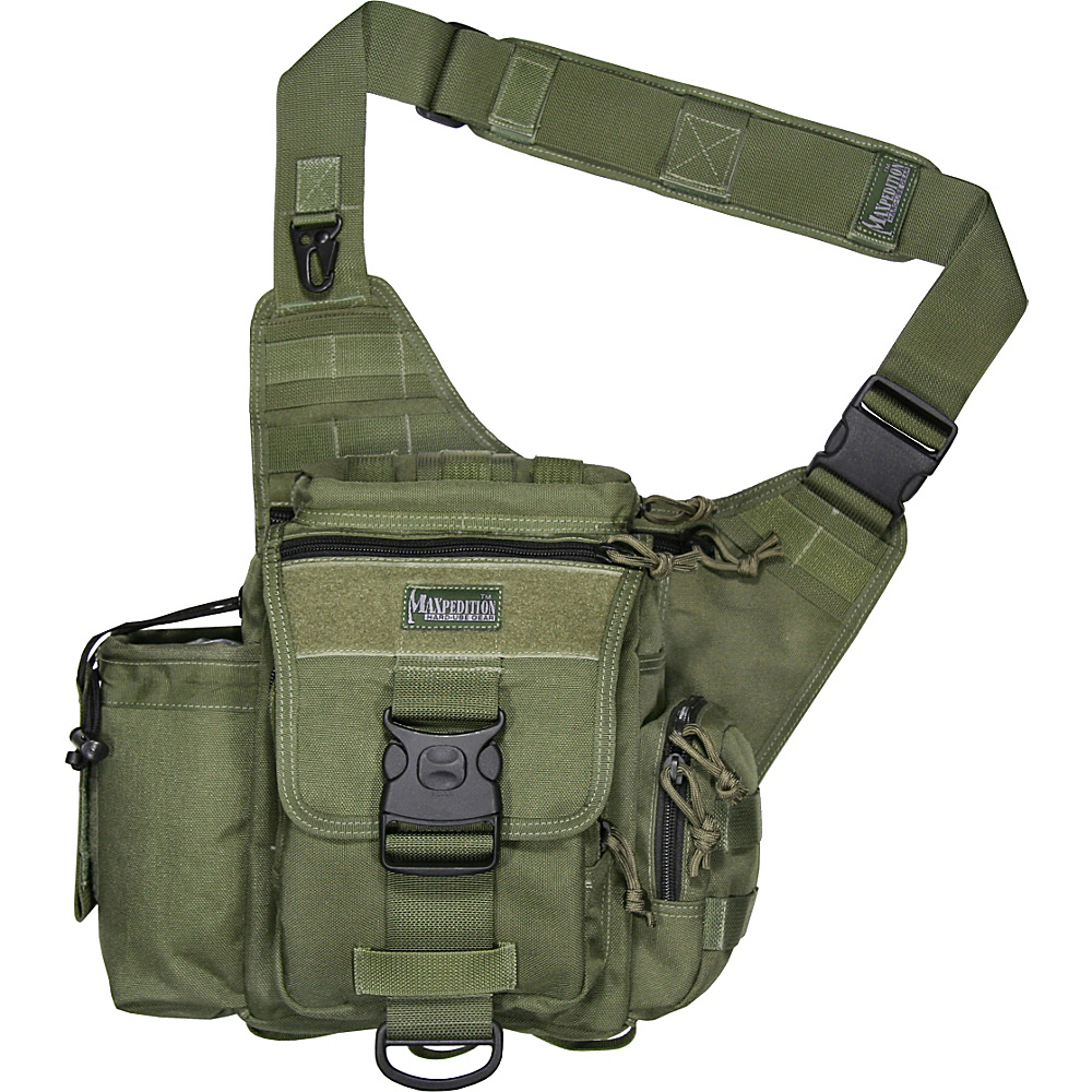 Maxpedition JUMBO VERSIPACK - Green - Outdoor, Day Hiking Backpacks
