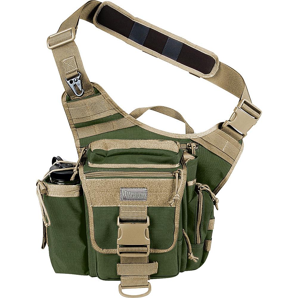 Maxpedition JUMBO VERSIPACK GREEN / KHAKI - Maxpedition Day Hiking Backpacks - Outdoor, Day Hiking Backpacks