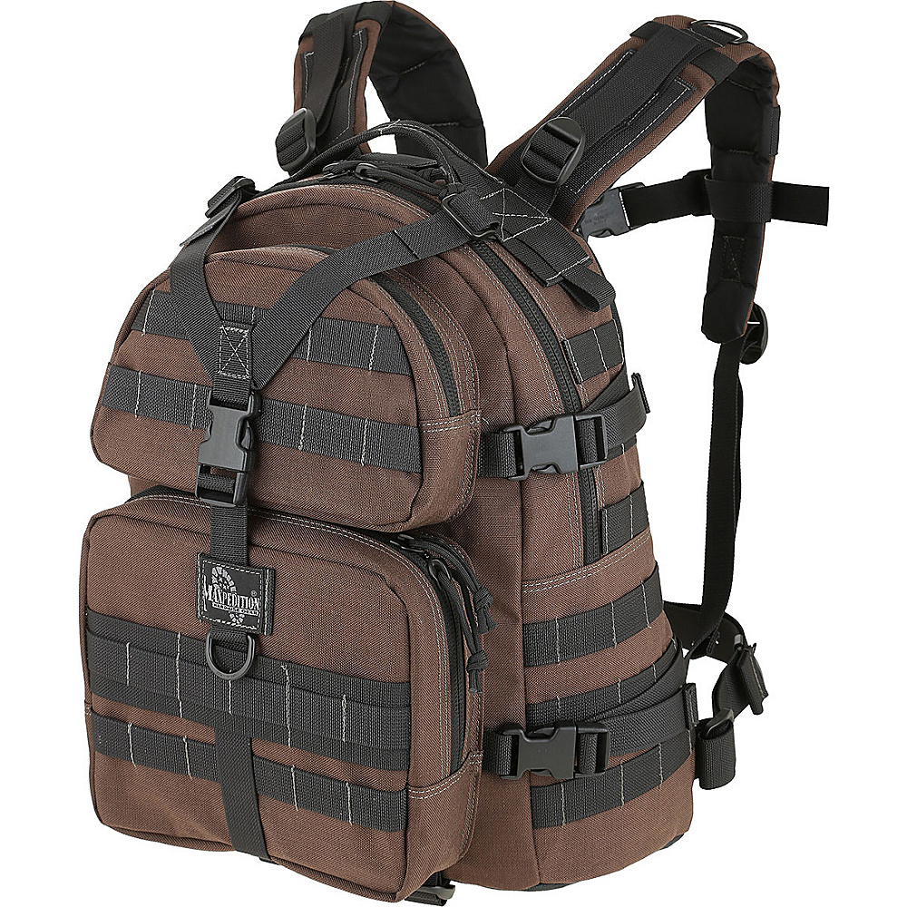 Maxpedition CONDOR II BACKPACK Dark Brown Maxpedition Day Hiking Backpacks