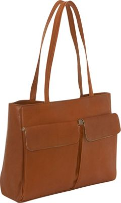 Clava Two Pocket Tote - Vachetta Tan