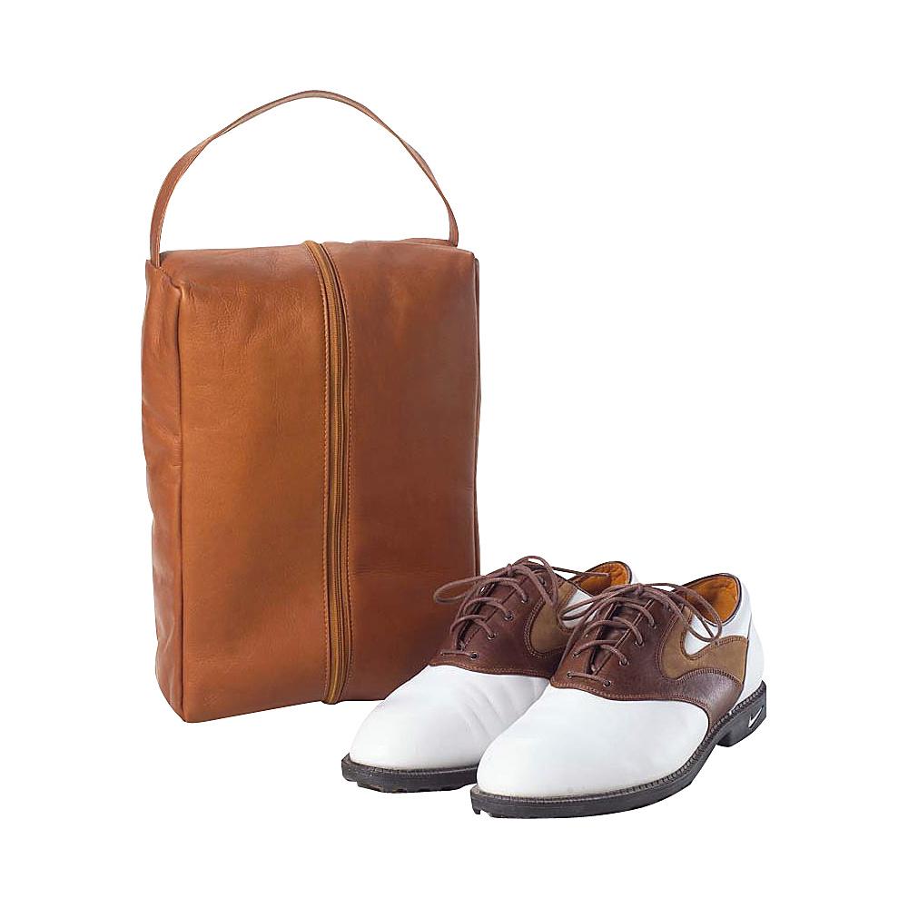 Clava Golf Shoe Bag - Vachetta Tan - Sports, Sports Accessories