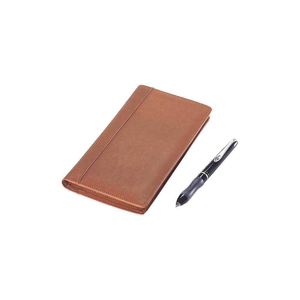 Clava Slim Passport Wallet - Bridle Tan - Travel Accessories, Travel Wallets