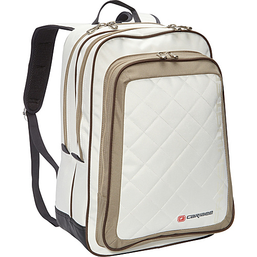 Caribee Fresh Water Gray / Putty - Caribee School & Day Hiking Backpacks