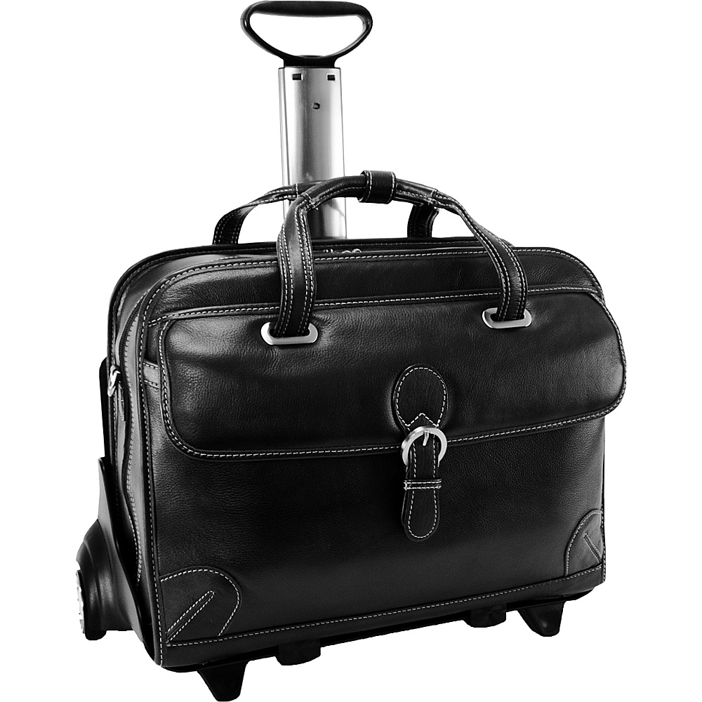Siamod Vernazza Collection Carugetto Wheeled Laptop - Work Bags & Briefcases, Wheeled Business Cases