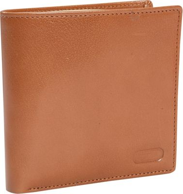 Leatherbay Double Fold Wallet w/Coin Pocket - Natural