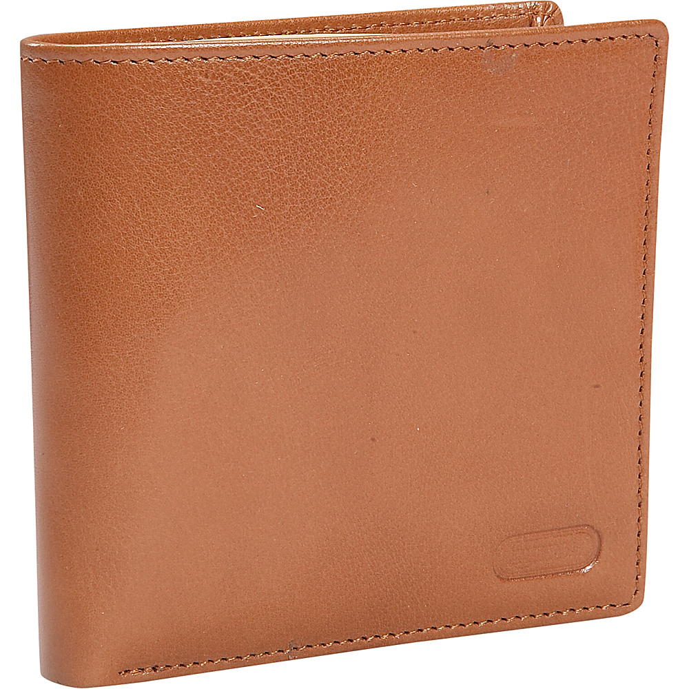 Leatherbay Double Fold Wallet w/Coin Pocket - Natural - Work Bags & Briefcases, Men's Wallets