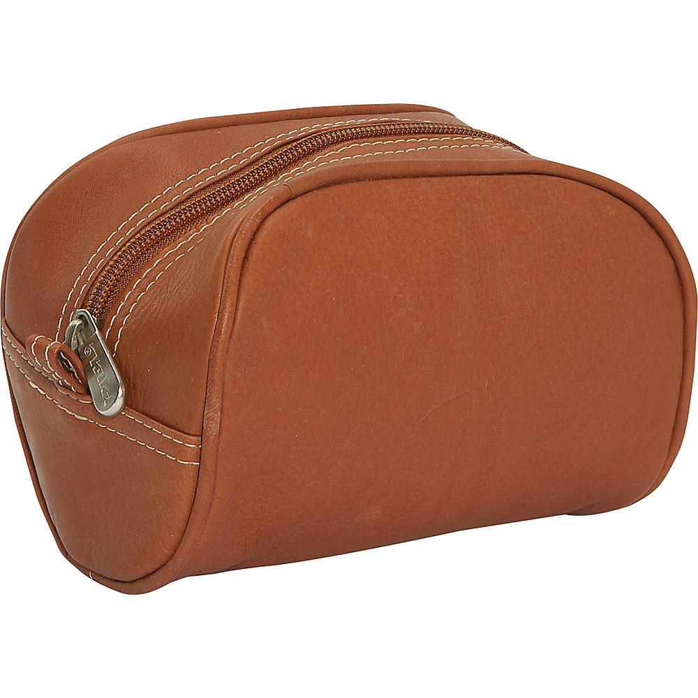 Piel Cosmetic Bag - Saddle - Women's SLG, Women's SLG Other