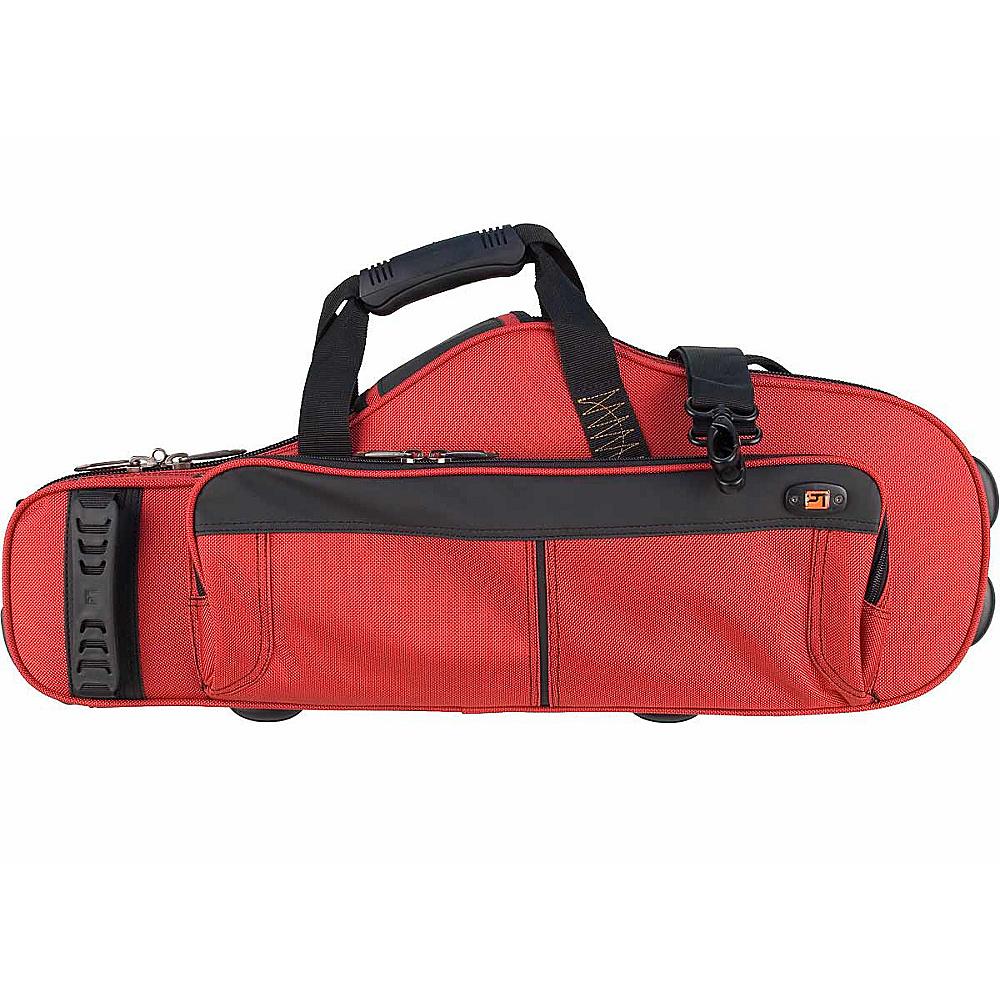 Protec Contoured Alto Sax PRO PAC Case - Red