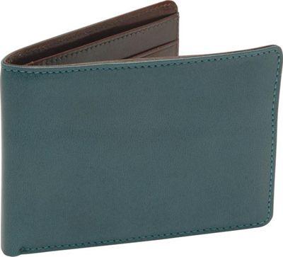 TUSK LTD Leonardo Billfold Wallet Blue/Chocolate - TUSK LTD Women's Wallets