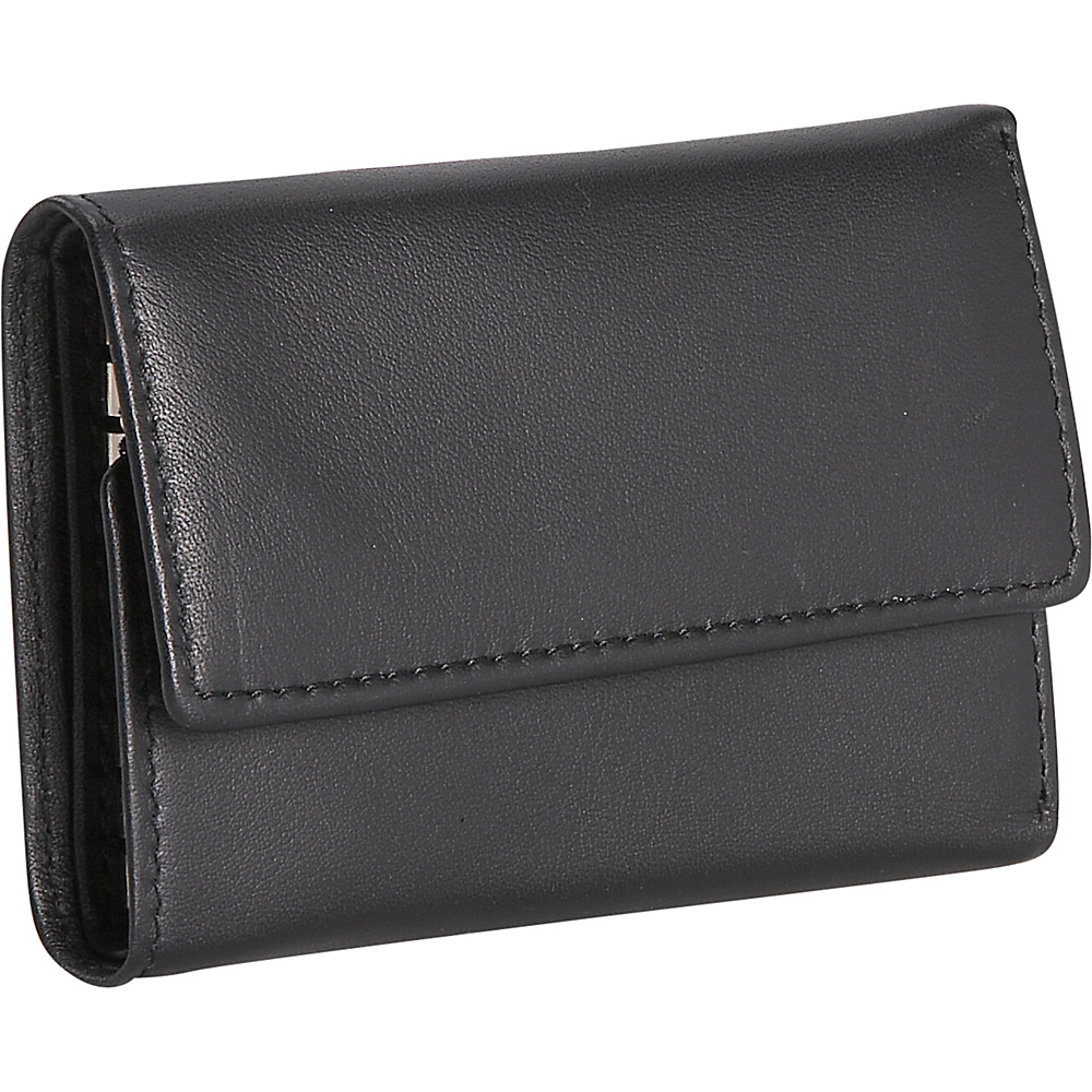 Royce Leather Leather Key Case Wallet - Black - Work Bags & Briefcases, Men's Wallets