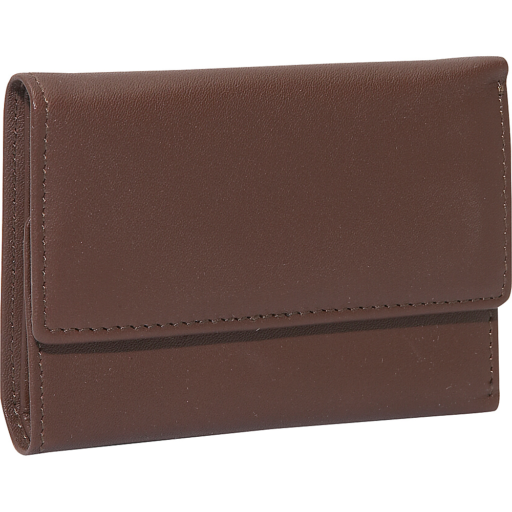 Royce Leather Leather Key Case Wallet - Coco/Coco - Work Bags & Briefcases, Men's Wallets
