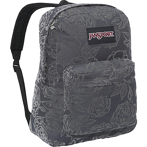 JanSport High Stakes Fashion Backpack Forge Grey Rose Garden - Backpacks, School & Day Hiking Backpacks