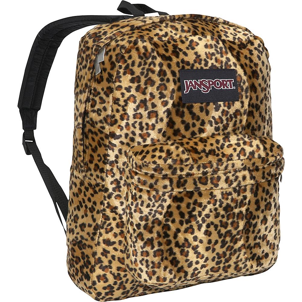 JanSport High Stakes Backpack Caramel Leopard - JanSport School & Day Hiking Backpacks - Backpacks, School & Day Hiking Backpacks