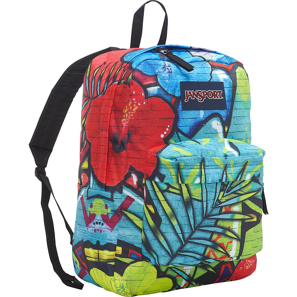 JanSport High Stakes Backpack Multi Graffiti - JanSport School & Day Hiking Backpacks - Backpacks, School & Day Hiking Backpacks
