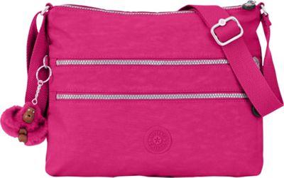 Kipling Alvar Crossbody Bag Very Berry - Kipling Fabric Handbags