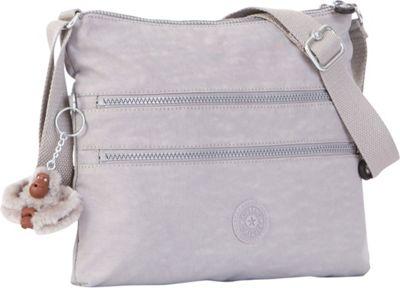 Kipling Alvar Crossbody Bag Slate Grey - Kipling Fabric Handbags