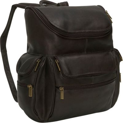 David King & Co. Computer Backpack Black - David King & Co. Business & Laptop Backpacks