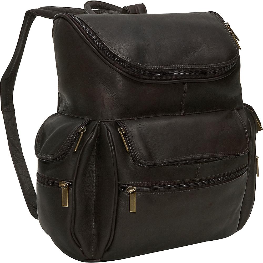 David King & Co. Computer Backpack Black - David King & Co. Business & Laptop Backpacks