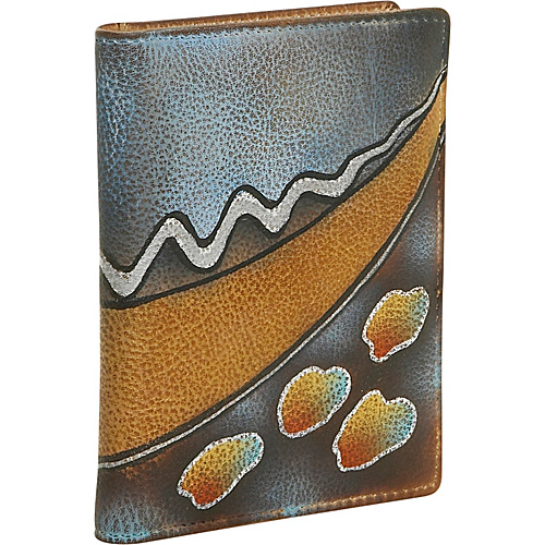 Anuschka Passport cover - Abstract Twilight - Abstract