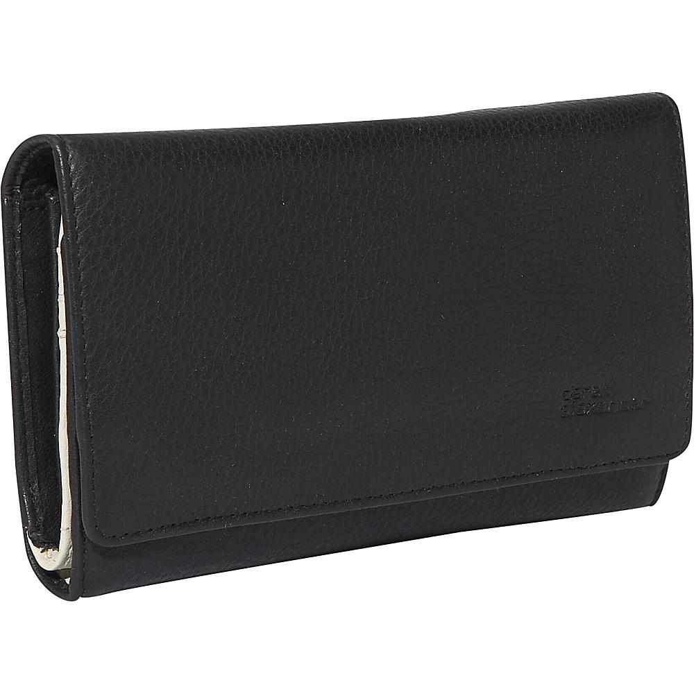 Derek Alexander Large Credit Card Clutch - Black and - Women's SLG, Women's Wallets