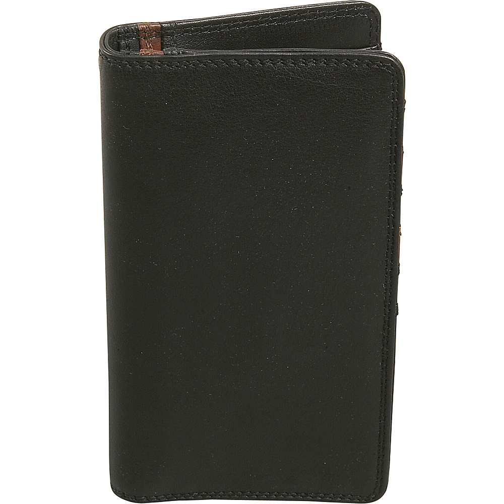 Derek Alexander Mens Leather Breast Pocket Wallet - Work Bags & Briefcases, Men's Wallets