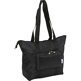 Fold Up Travel Tote Black