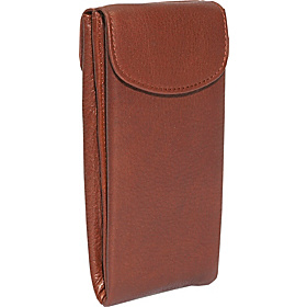 Double Eyeglass Case Brandy