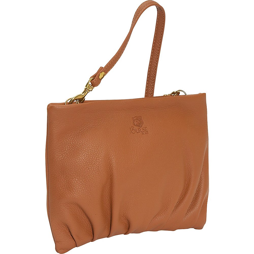J. P. Ourse Cie. Windemere Versatile Clutch Tan